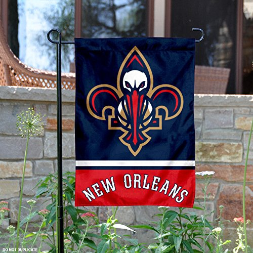 fan products of New Orleans Pelicans Double Sided Garden Flag