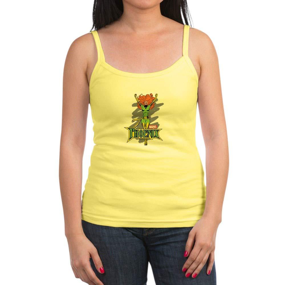 Phoenix Jr Spaghetti Tank Top Soft Tank With Thin Straps Lemon 1775 Shirts