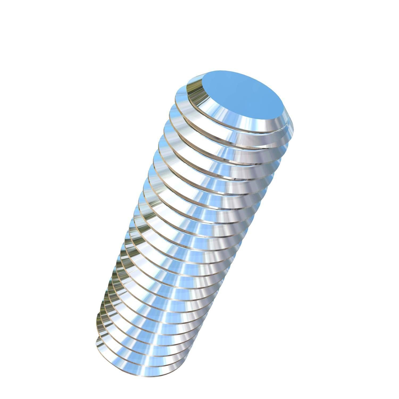 Allied Titanium 0037553, (Pack of 1) 1/2-13 X 12 UNC Threaded Rod, Rolled, Grade 5 (Ti-6Al-4V)
