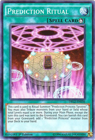 Yu-Gi-Oh! - Prediction Ritual (DRL2-EN036) - Dragons of Legend 2 - 1st Edition - Super Rare