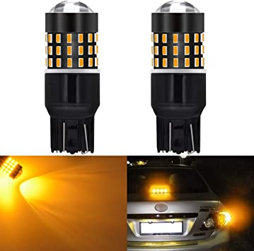 T20 7440 Reverse LED Bulb 7441 7444 992 W21W for Back Up LED Lights 7443 Reverse Light Pack of 2