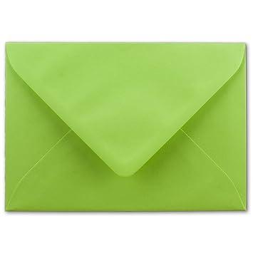80 g//m/² Kuverts in DIN B6 Format 12,5 x 17,6 cm Nassklebung ohne Fenster 25x Brief-Umschl/äge in Himmel-Blau