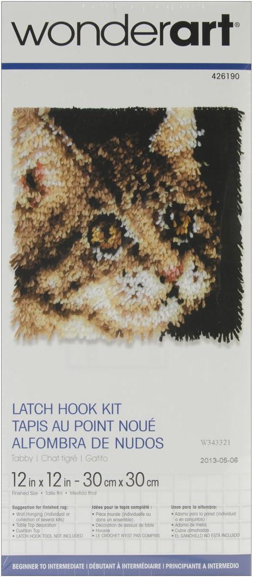 Latch Hook Rug Fil 12 Packs 6 Aqua 6 Turquoise Foncé Premium fil Vendeur Britannique