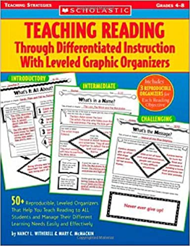 Workbook differentiated instruction worksheets : Amazon.com: Teaching Reading Through Differentiated Instruction ...