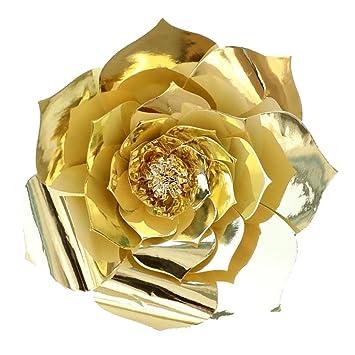 Amazon De Sm Sunnimix Grosse Papierblumen Kunstblumen Diy Blumen