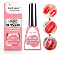 Professional Burst Magic Nail Polish Remover,Easily & Quickly Removes Soak-Off Gel Polish In 2-3 Minutes, Don't Hurt Your Nails