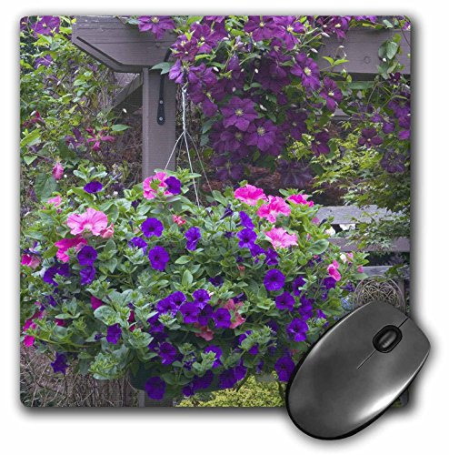 3dRose LLC 8 x 8 x 0.25 Inches Mouse Pad, Garden Designs, Sammamish, Washington, Darrell Gulin (mp_95371_1) (Designs Garden Arbor)