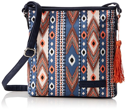 Tom Tailor Denim Romy Donna Borse a tracolla Multicolore (Multi) 6x26x27.5 cm (B x H x T)