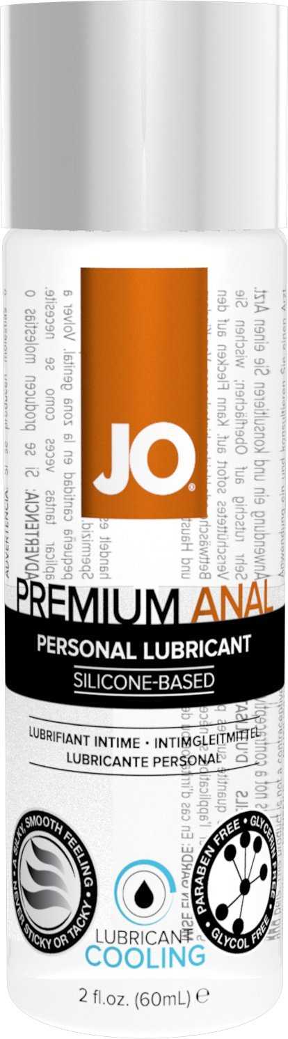 JO Premium Silicone Anal Lubricant - Cooling ( 2 oz )