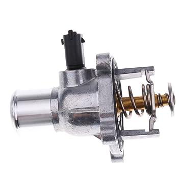 Sharplace Caja de Termostato Refrigerante de Motor para Coche OEM 24405922