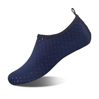 81488817772d HMIYA Water Shoes Barefoot Quick-Dry Slip On Aqua Yoga Beach Surf Swim  Socks for