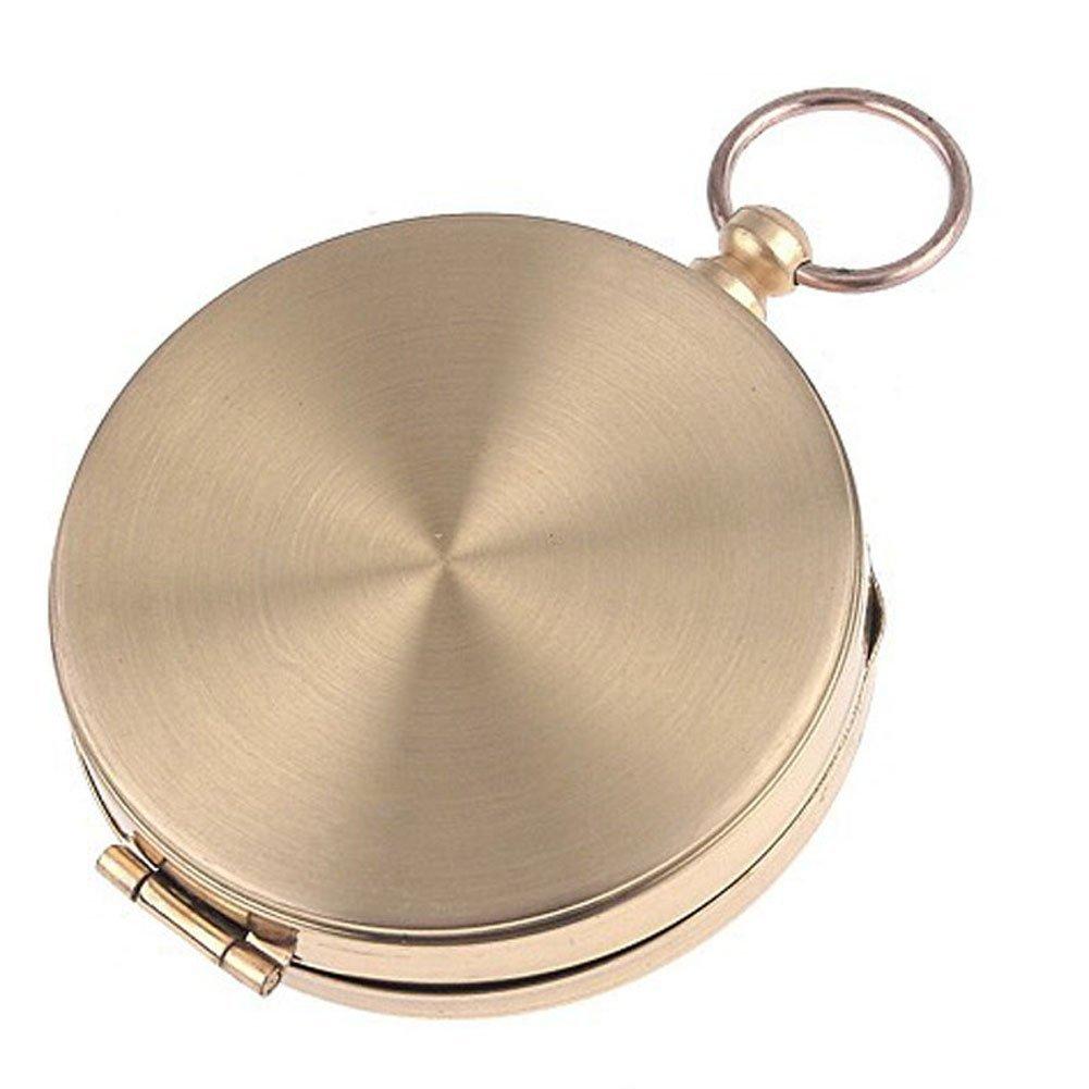 homiki Boussole Charm pendentif collier D/ôme en verre Bronze de la Cha/îne dobjets dArt faits Main