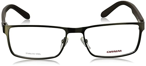 4a62c4f792a Amazon.com  Carrera 6656 Eyeglass Frames CA6656-09T6-Dark Ruthenium Matte  Black Frame