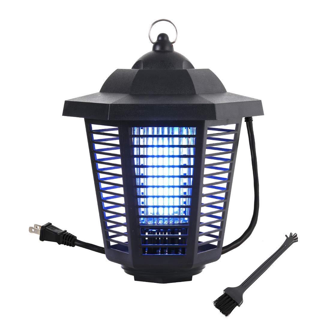 Garsum 1 Zapper,Powerful Electric Bee Trap-20 Watts, Covers 1-1/2, Black by Garsum