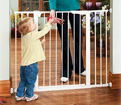 Baby Gates Wall Pads (4 Pack Guard) Safety Indoor Gate Wall Protector - Improved Small Compact Wall Cups Saves Trim & Paint - Best Dog Pet Child Kid Walk Through Pressure Mounted Gates Guard by vmaisi (Image #4)
