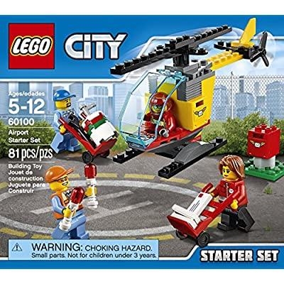 LEGO 60100 City Airport Starter Set, Building Kit (81 Piece): Toys & Games