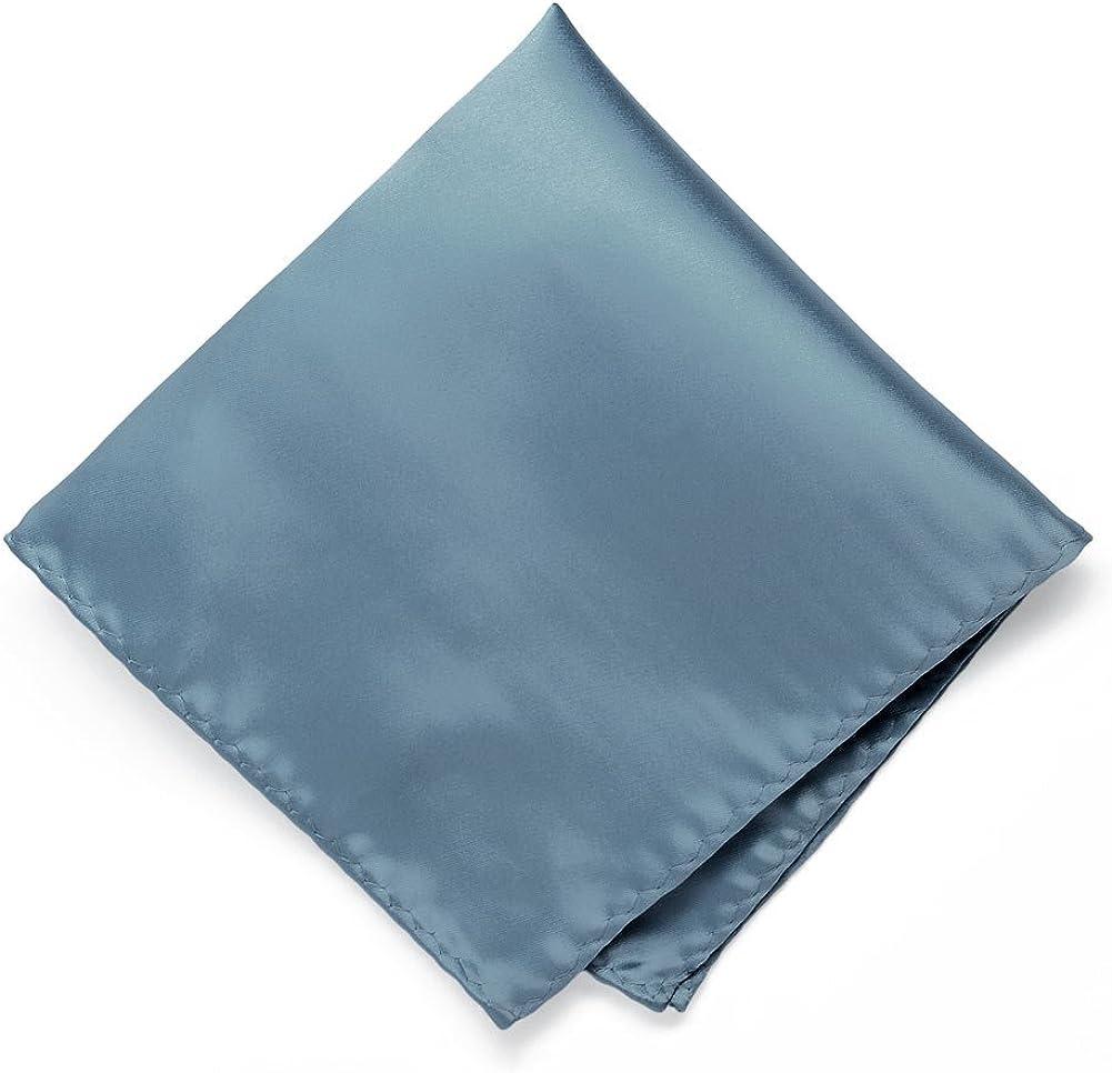 TieMart Serene Premium Pocket Square