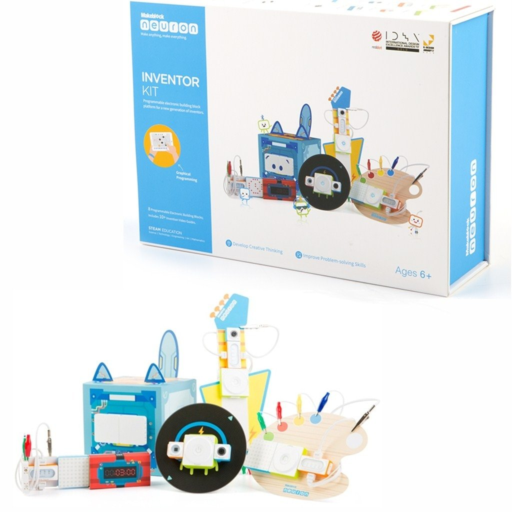 Makeblock Neuron Inventor Kit STEM Programmierbarer elektronischer Baustein für Kinder