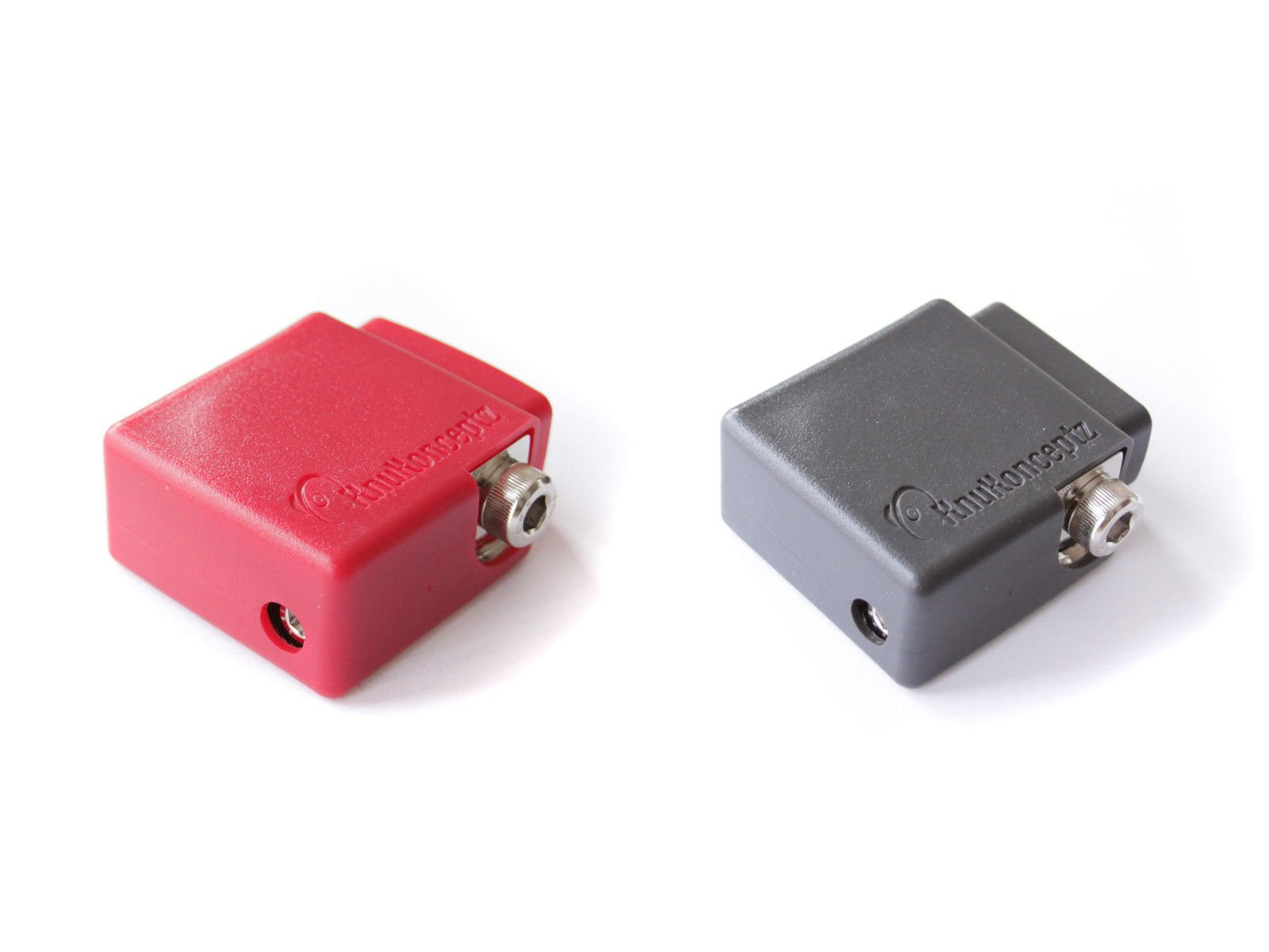 KnuKonceptz Ultimate Positive and Negative Battery Terminal Pair with OEM Top Post Adapter