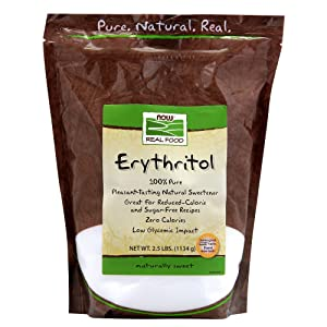 Now Foods, Erythritol, Natural Sweetener, 40 Ounce (Pack of 1)