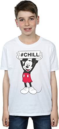 Disney niños Mickey Mouse Chill Camiseta