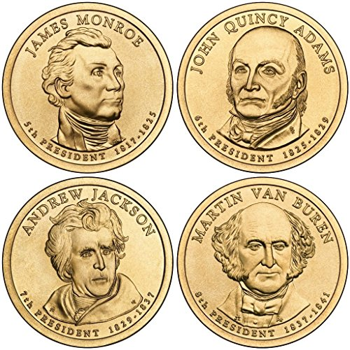 2008 D Presidential Dollar 2008 D Presidential Dollar 4-Coin P Mint Uncirculated Uncirculated