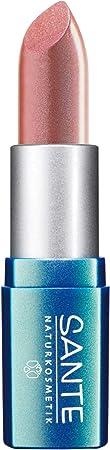 SANTE Naturkosmetik Lipstick No. 11 nude beige, Lippenstift, Transparente bis intensive Farben, Zart pflegend & sanft schütze