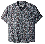 Quiksilver Men's Variable Shirt, Tapestry Chiba Variable, XL