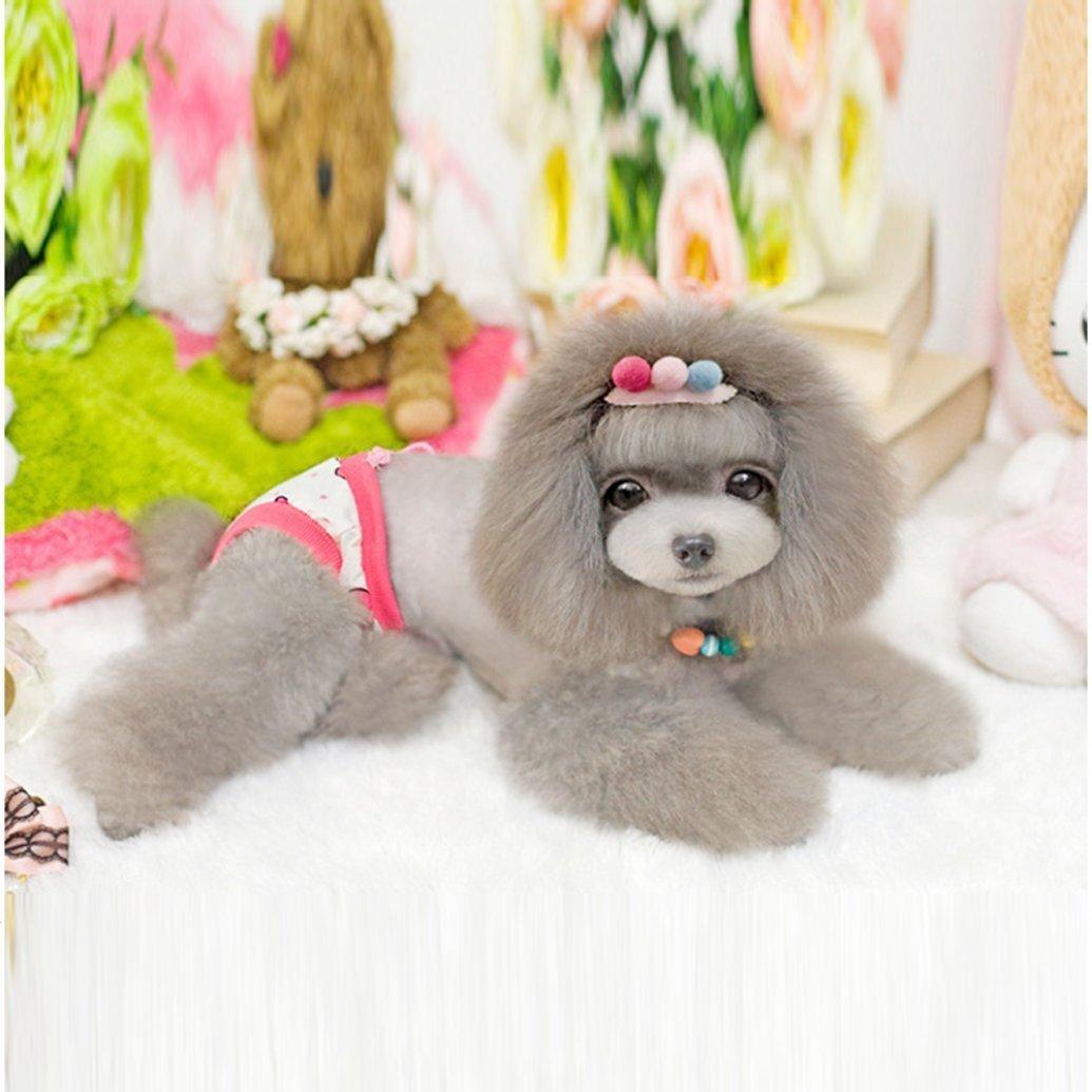 LUQUAN Washable Female Pet Dog Diaper Elastic Reusable Pants
