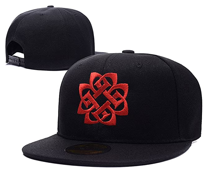 a8cf88c56af Image Unavailable. Image not available for. Color  Breaking Benjamin Band  Logo Adjustable Snapback Embroidery Hats Caps
