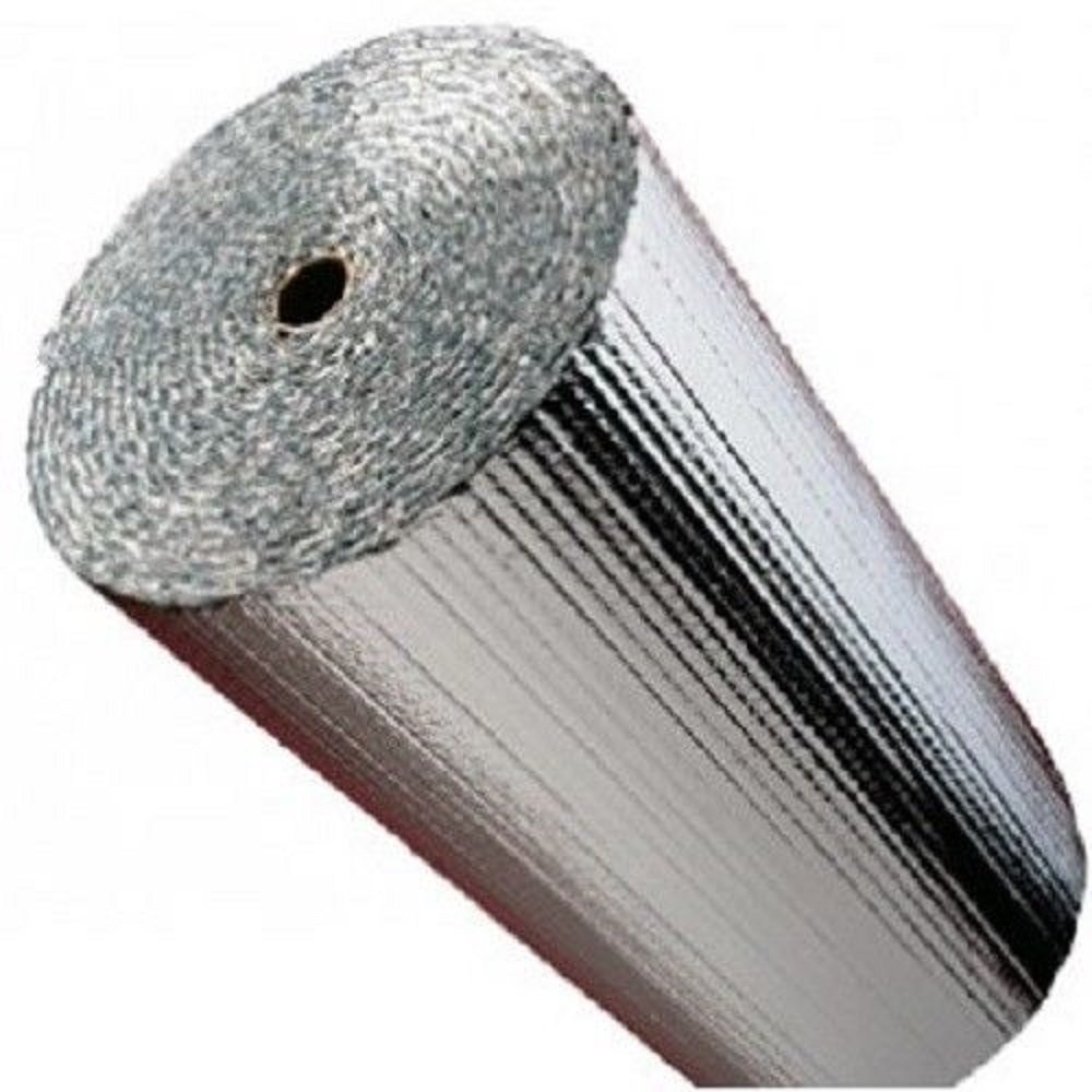 US Energy Products NASATECH 24 x 50' Single Bubble Reflective Foil Insulation Vapor Barrier