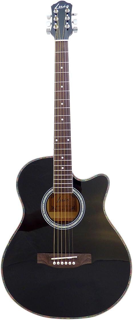 Luis by Acandoo Guitarra electroacústica 4/4 Acoustic Guitarra ...