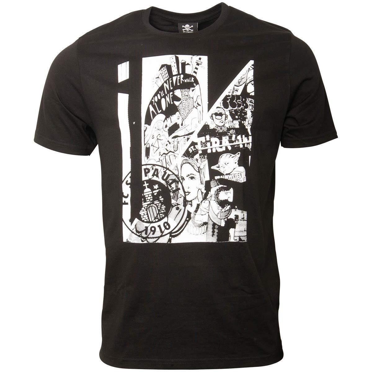 FC St. Pauli - Camiseta para Hombre de Impresión Collage SG Dynamo ...