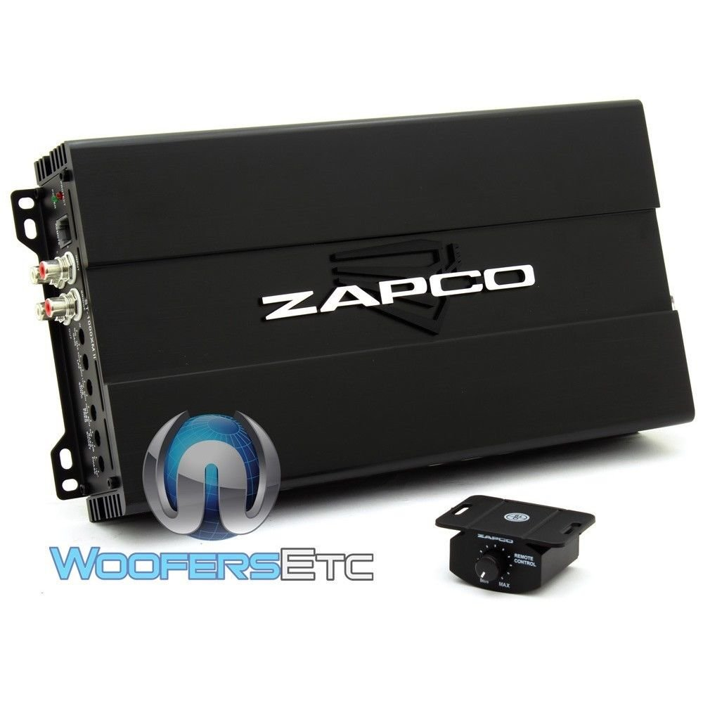 Amazon.com: Zapco ST-1000XMII 1000 watt Mono Class D Amplifier: Car Electronics