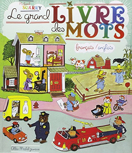 Le Grand Livre de Mots Francais / Anglais : Best Word Book Ever French / English (French Edition)