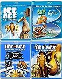 Dino Bears Lizard Adventure Movie Pack Rango Blu Ray + Yogi Bear & Ice Age + Continental Drift / Meltdown Dinosaurs awesome Family 5 movie Set