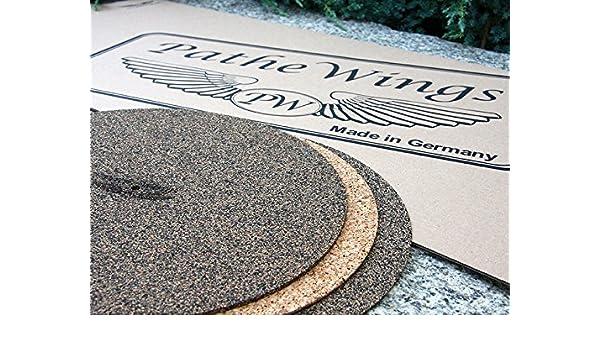 Placa Giratoria De Record Mat 3/ 1/mm 2/ Corcho /& Caucho Natural KNC