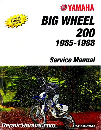LIT-11616-BW-20 1985-1988 Yamaha BW200 Big Wheel Motorcycle for sale  Delivered anywhere in USA