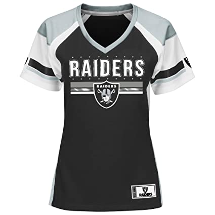 Amazon.com   Oakland Raiders Women s Majestic NFL