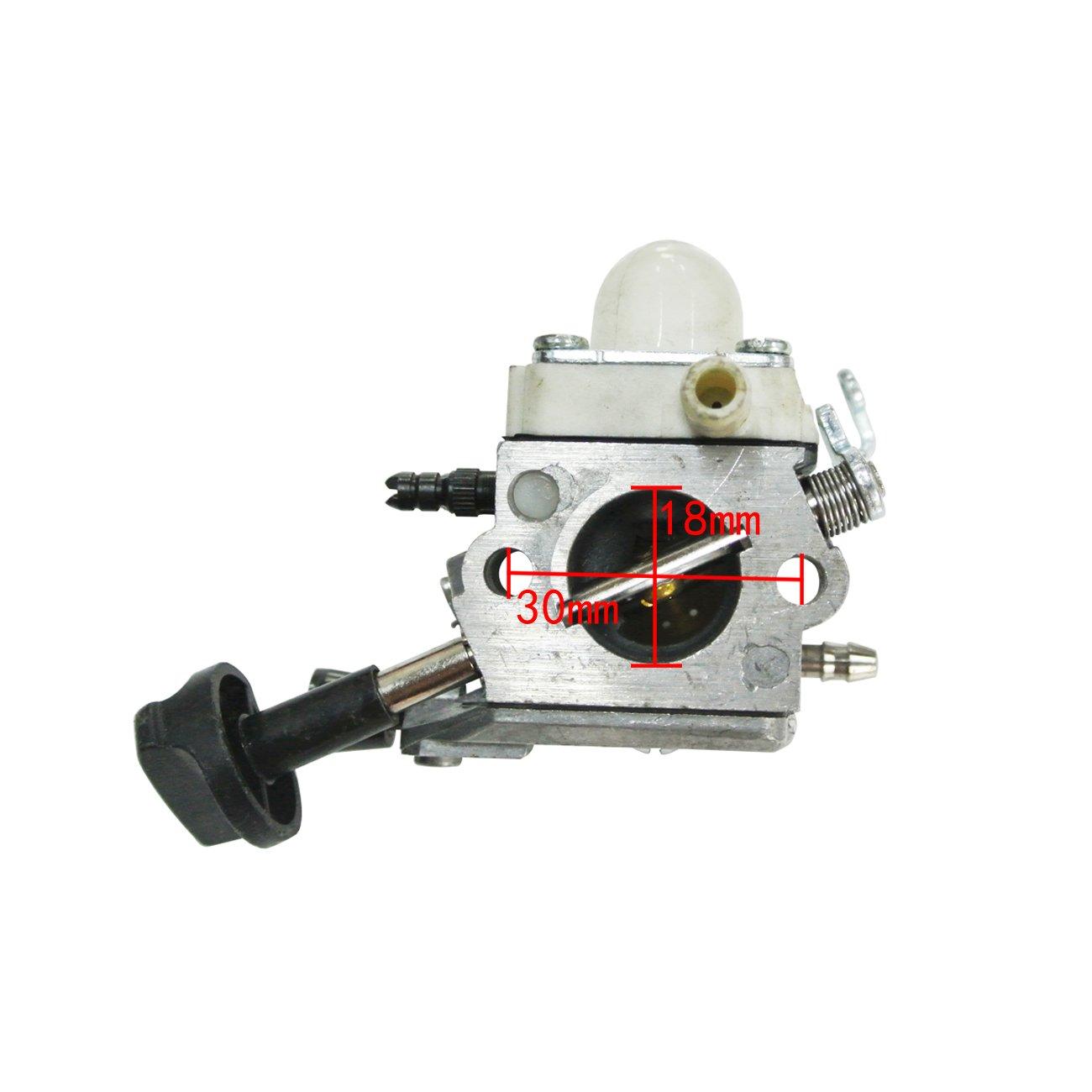 JRL Zama C1M-S261B Carburador para soplador Stihl SH 56 SH56C SH 86 SH86C BG86