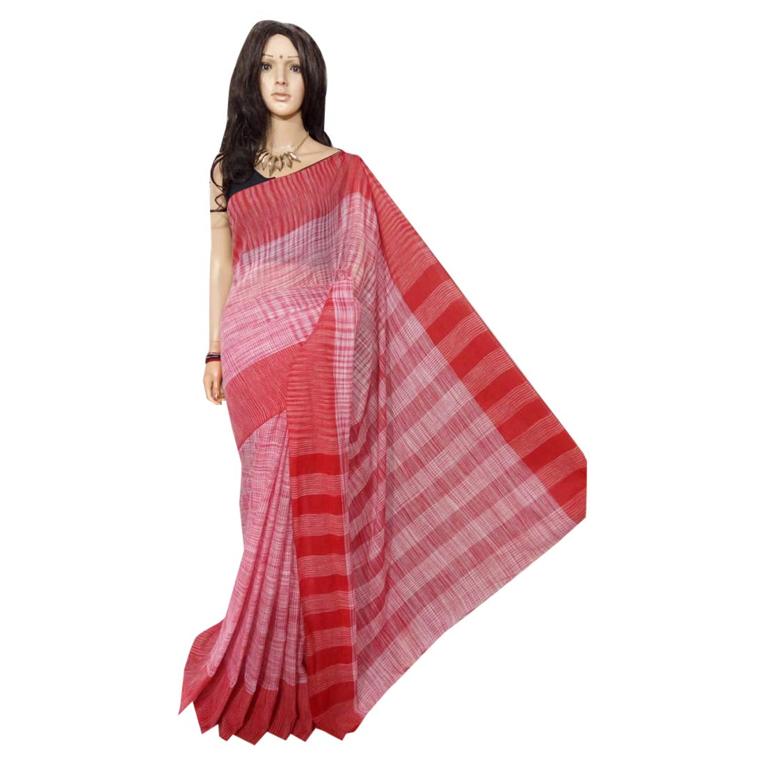 Cotton Saree Handloom Linen jamdani Saree weavers traditional Indian Bengal Women sari Ethnic Festive saree 125 2