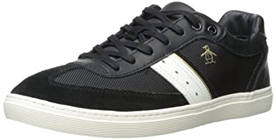 Original Penguin Mens Frost Fashion Sneaker Black
