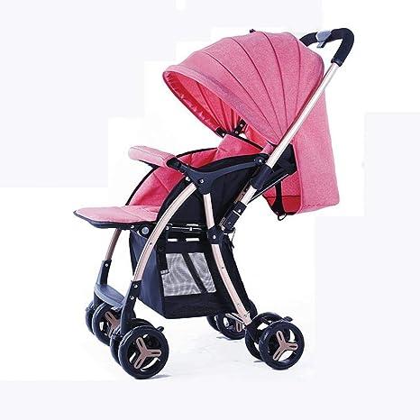 Olydmsky Carro Bebe,Cochecito de bebé Doble vía de Aluminio Ligero y portátil Puede ser