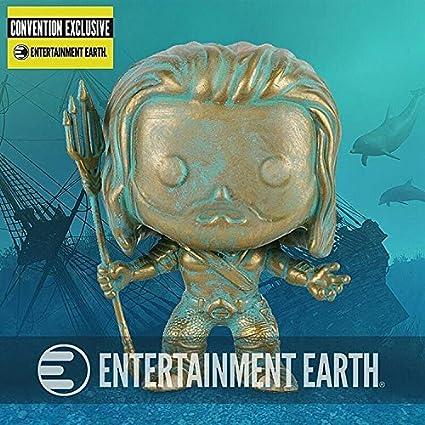 POP Funko Exclusive Batman vs Superman Aquaman Patina POP
