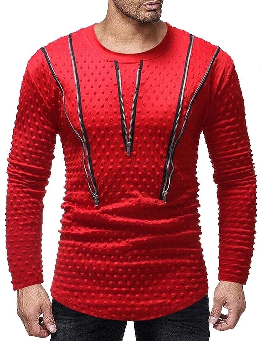 Beloved Mens Winter Thicken Faux Fur Lined Coat Hood Windproof Jacket Warm Outwear