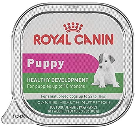 Royal Canin Health Nutrition Puppy In Gel Tray Dog Food, 3.5 oz, 24 Count