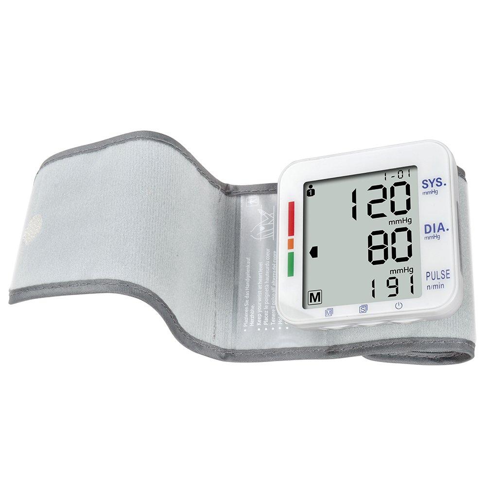 Amazon.com: Elera Digital Automatic Blood Pressure Monitor& Meter Sphgmomanometer (Wrist): Health & Personal Care