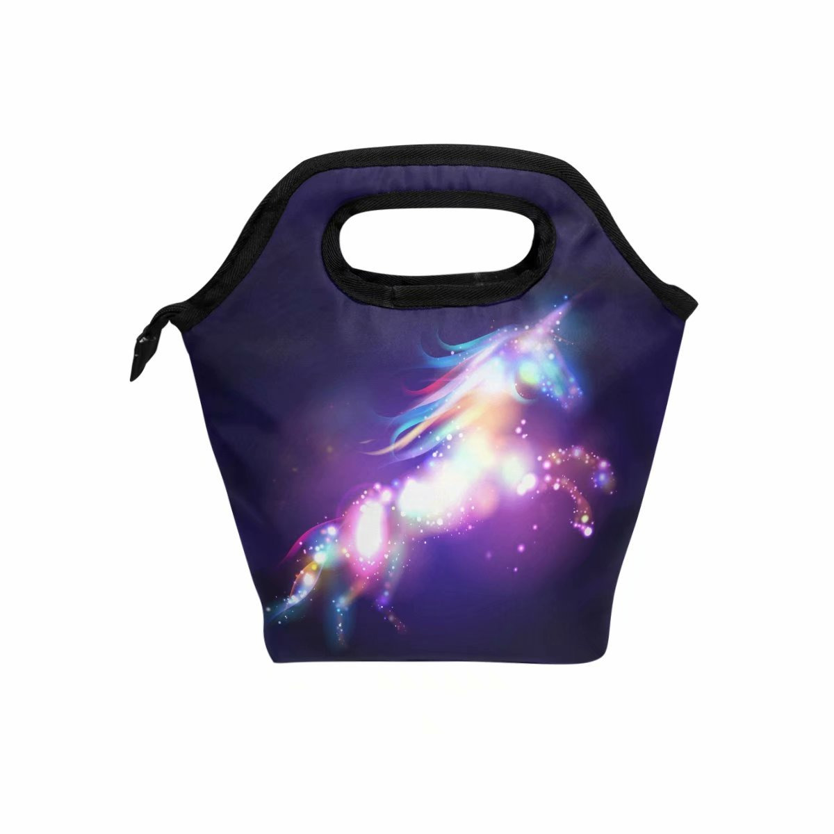 Sloth Lunch Bag Insulated Lunch Box Large Freezable Lunch Boxes Cooler Meal Prep Lunch Tote Follow Your Dreams with Shoulder Strap for Women Boys Girls WHBAG