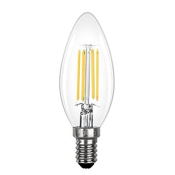 Bombilla LED E14 3,5W, Aglaia 3,5W Equivalente Incandescente de 40W,