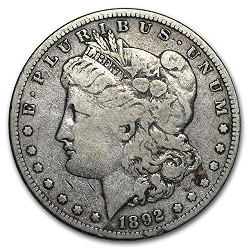 1892 S Morgan Dollar Fine $1 Fine